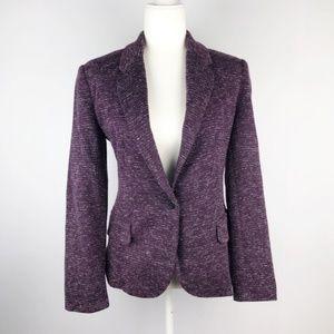 Anthropologie | Cartonnier Purple Career Blazer